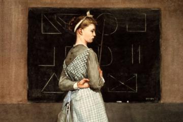 E se retirássemos os quadros das salas de aula?