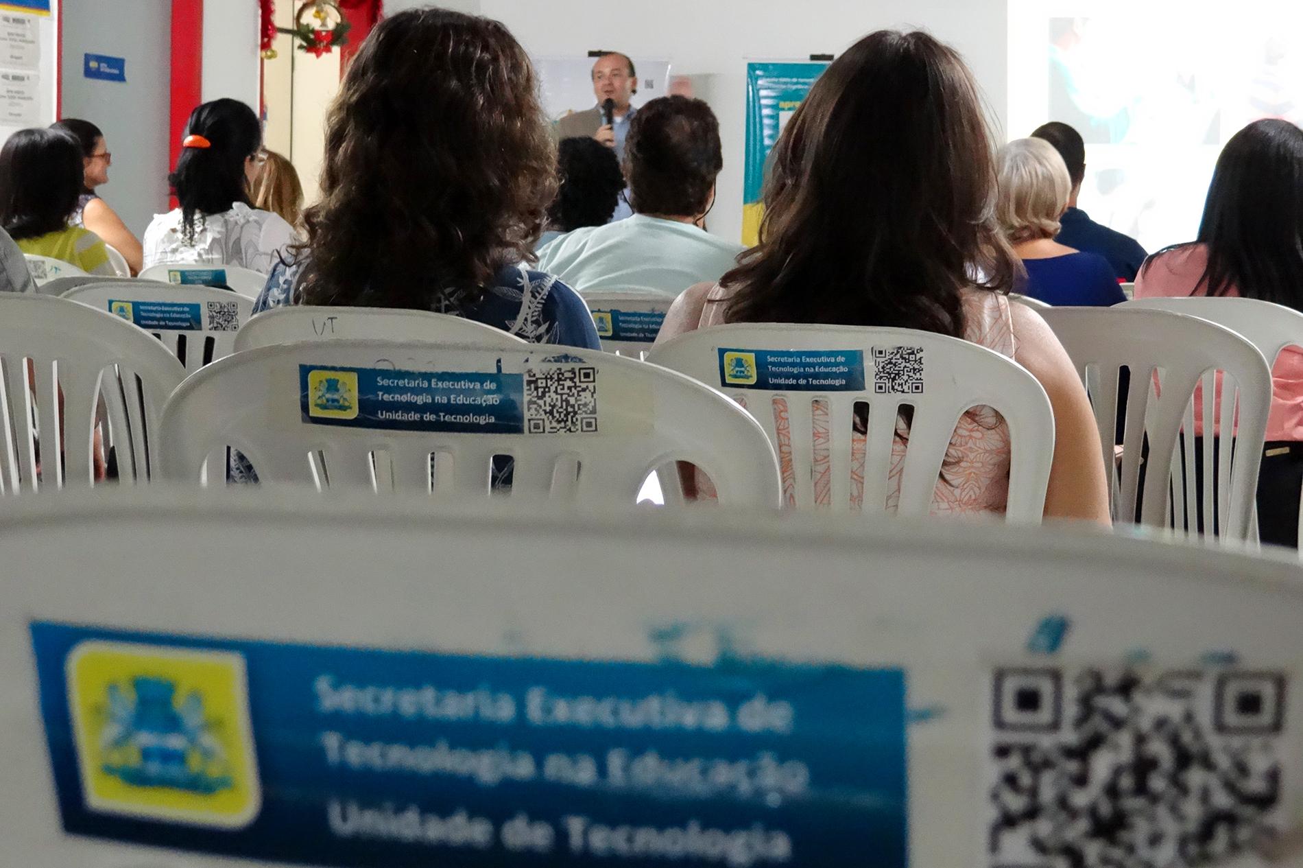 Apresentação da Série Professor Criativo aos professores da Rede Municipal do Recife
