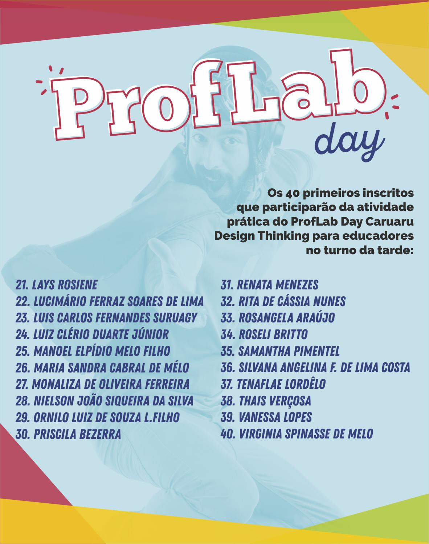 Prof-Lab Day - Design Thinking para educadores