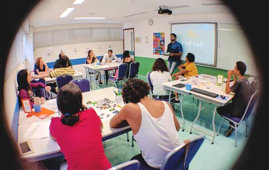 Sala da ABA Global Education no Recife