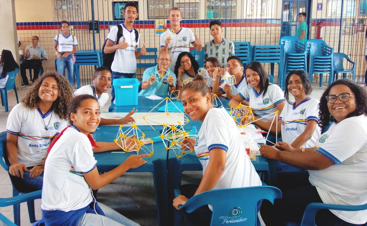 Alunos do EREM Joaquim Távora. Foto: Paulo Alexandre